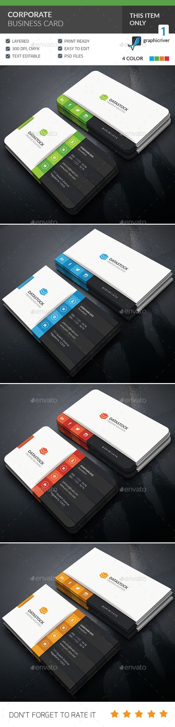 174 best Business Card Print Templates images on Pinterest ...
