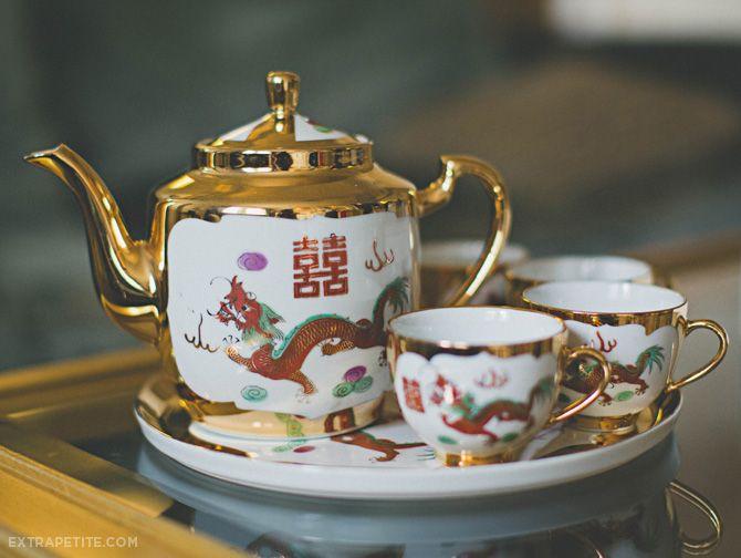 ExtraPetite.com - Our Chinese Wedding Tea Ceremony at the Lenox Boston Hotel