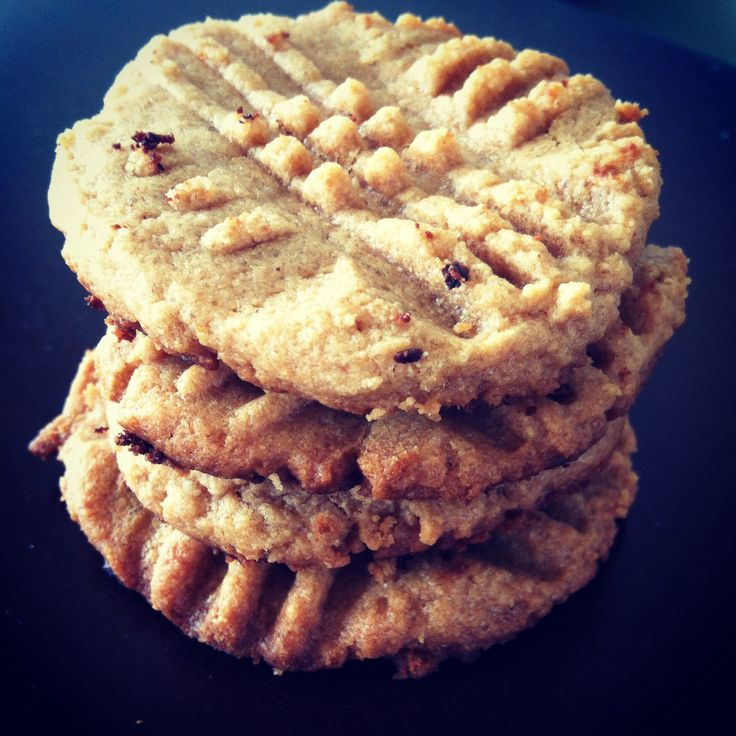 South Beach Diet Phase 1 Peanut Butter Cookies