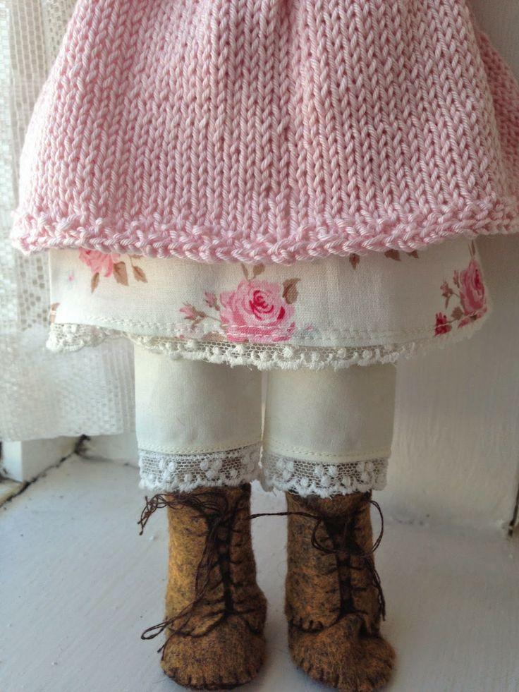 Kandipandi's Pad - Bloomers, cotton and knit dress made for miss maggie by Kandipandi