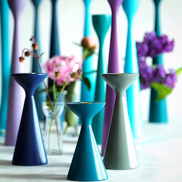 Inga™ and Rolf™ candlesticks by Maria L Dahlberg freemover.se