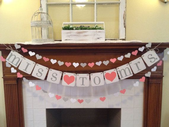 Bridal Shower Decoration Bridal Shower Banner by ClassicBanners, $28.00