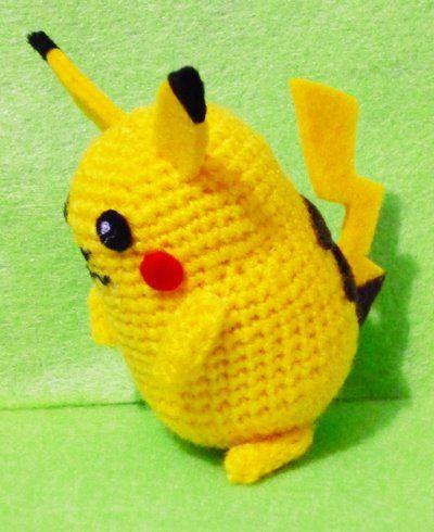 Amigurumi Pikachu Free Pattern : POKEMON PIKACHU CROCHET PATTERN Free Crochet Patterns