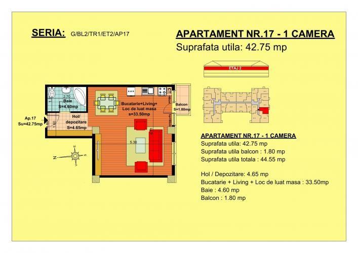 Vand garsoniera, etaj 2, zona Tractorul-Brasov  Situate pe strada Nicolae Labis nr 52, blocurile sunt construite pe un regim de inaltime de P+2 E + Mansarda, cu 2 lifturi si sunt realizate arhitectural cat sa permita acelasi grad de lumina in toate apartamentele.  Acceptam orice forma de plata: Cash, Credit Ipotecar, Prima Casa sau Rate la Dezvoltator.( cu un avans de 10000 euro- 5000 la achizitie si 5000 la mutare, rate de 600 euro, perioada maxima 7 ani) Garsonier