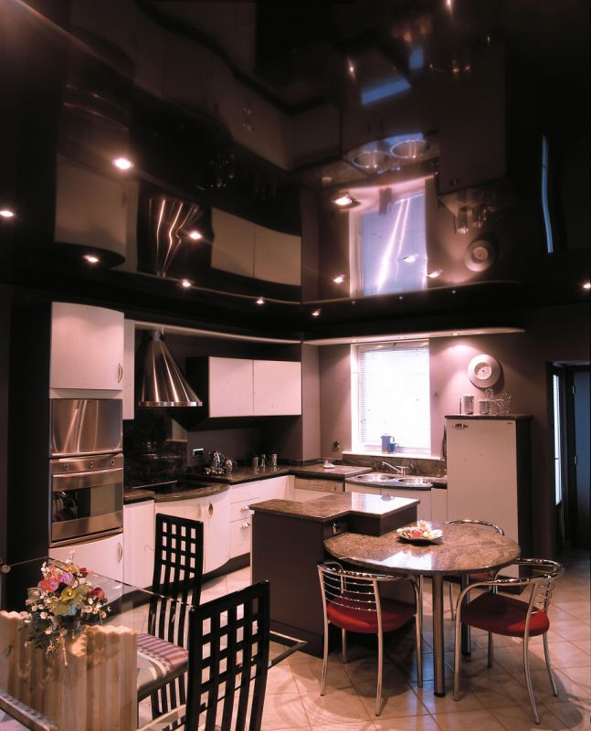 Stretch Ceiling - Plafond tendu noir