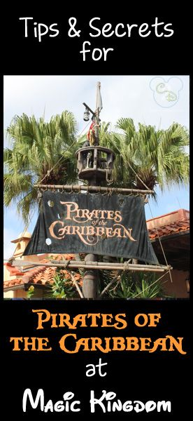 Everything you need to know about Pirates of the Caribbean. Pin now and reference on your next Disney trip.