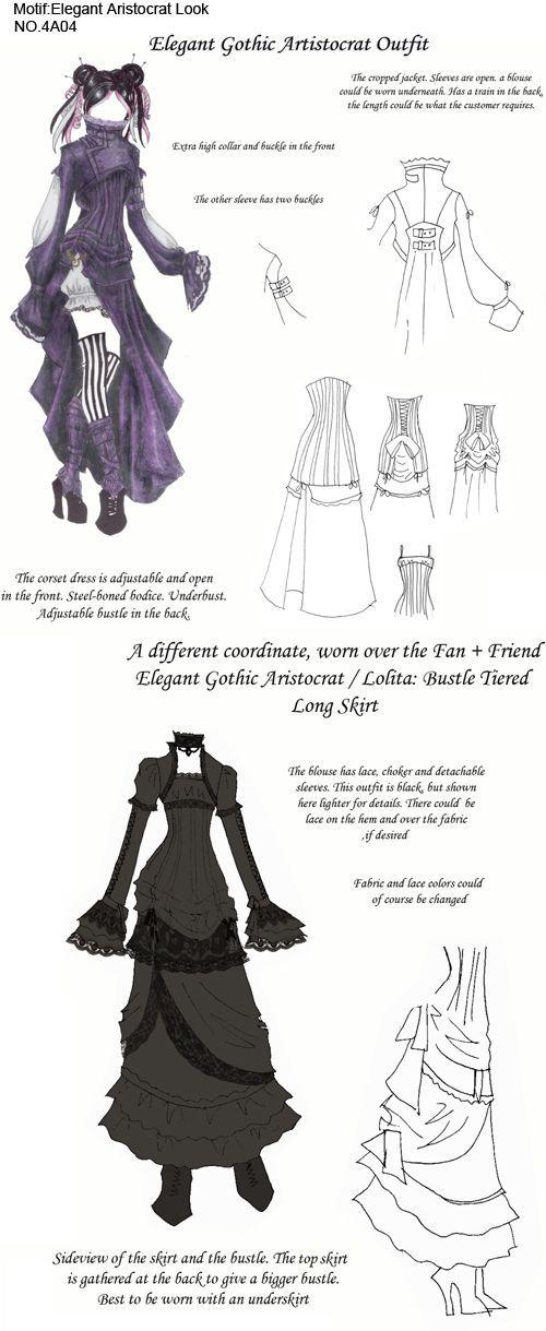 de3654b55e393 Elegant Gothic Aristocrat by ajasin.deviantart.com #GothicWear   How ...