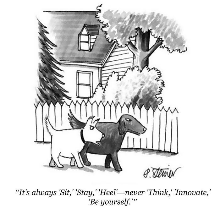 20+ Of The Funniest New Yorker Cartoons Ever | Bored Panda | Bloglovin'