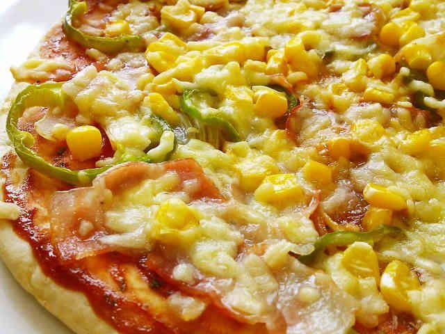 ランチに☆発酵なし簡単♪フライパンピザの画像