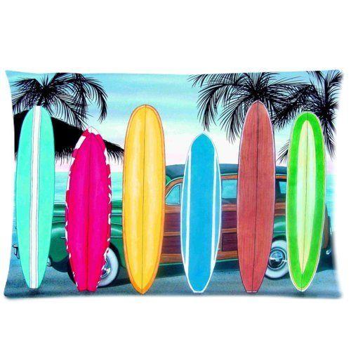surf board perfekt f r lustige bettw sche kissenbez ge. Black Bedroom Furniture Sets. Home Design Ideas