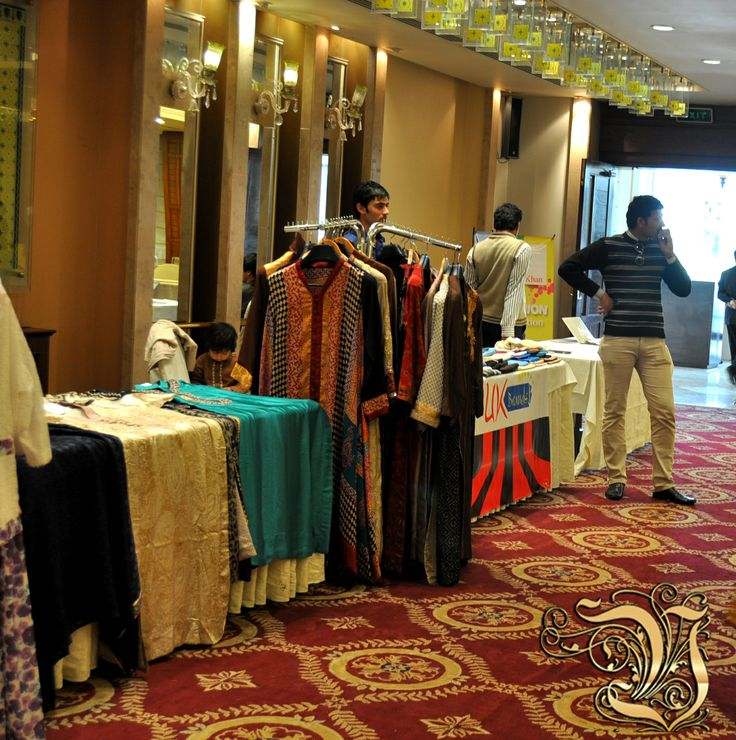 Vestiarie Clothings Stall Place in Fashion Exhibition at PC Rawalpindi in 4 March 2014.
