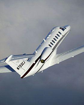 Private Jet CJ3 Cessna Citation Jet Businessjet Aircraft
