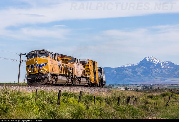RailPictures.Net Photo: UP 2693 Union Pacific GE ET44AC at Arimo, Idaho by Russell Watson