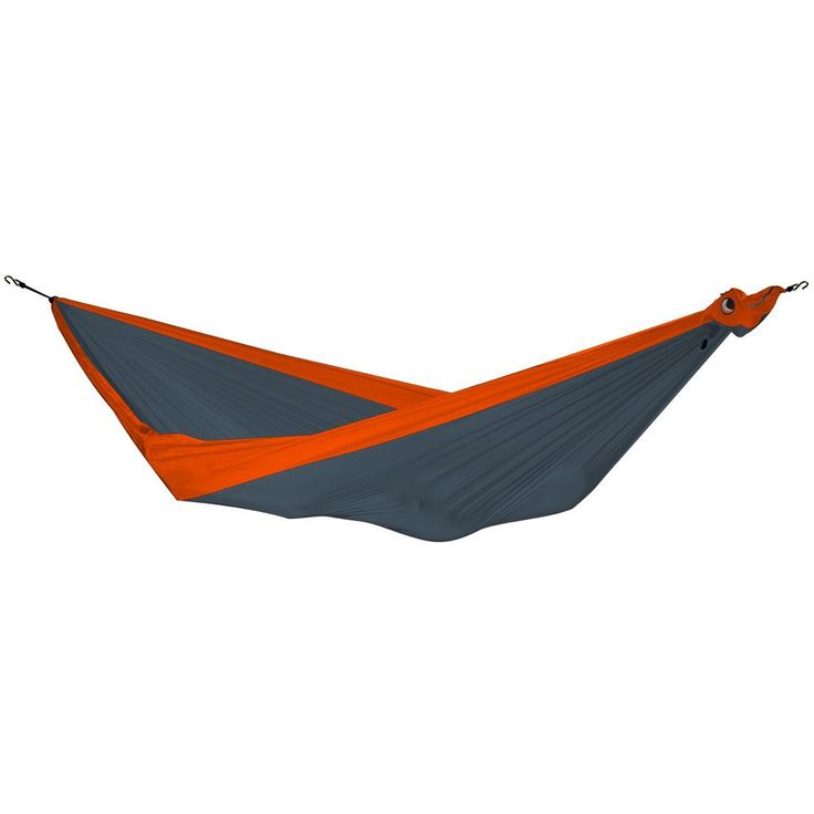 Parachute Hammock (Dark Gray & Orange)