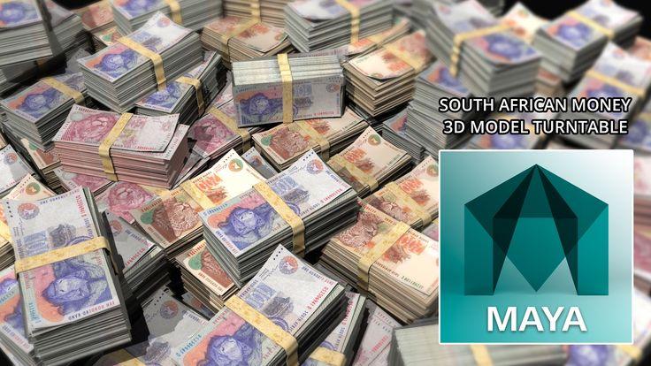 Autodesk Maya 2016 South African Money - Madiba Notes 3D Model (Free 3D ...