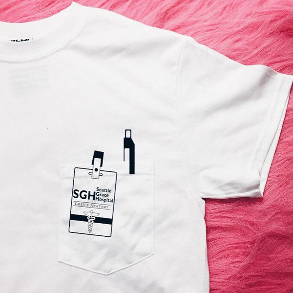 SGH Grey's Anatomy Pocket T-Shirt