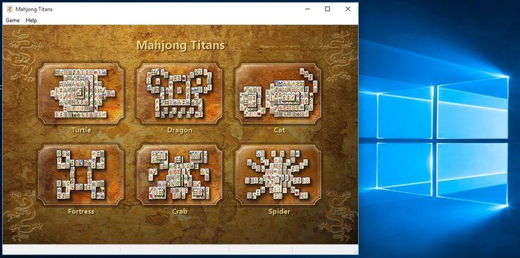 Mahjong Titans game layouts  Mahjong, Design puzzle, Windows 10 games