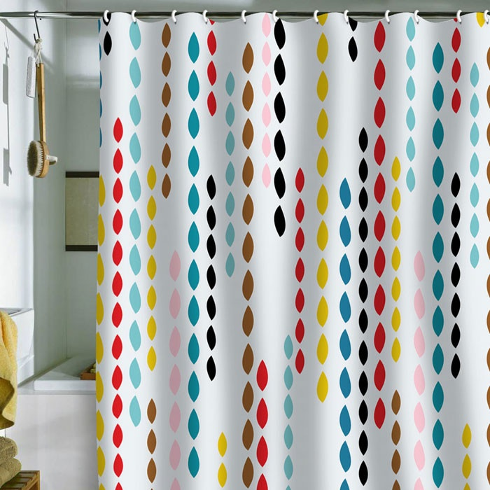 Great For A Kids Bathroom Colorful Drops Shower Curtain I Want