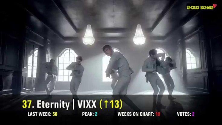 TOP 50 K-POP SONG CHART for AUGUST 2014 (Week 1 Chart)