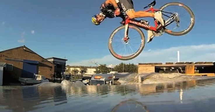 Stunt Cyclist's Bike Tricks Are Absurdly Impressive [VIDEO]
