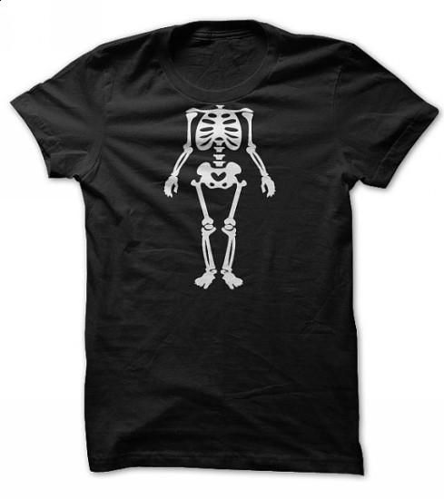Halloween Funny Skeleton Costume Tee Shirt - #t shirts #blank t shirt. BUY NOW => https://www.sunfrog.com/Holidays/halloween-funny-t-shirt.html?60505
