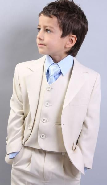 Cheap Kids Clothing Boys Wedding #Boys Suit# Tuxedo Good Looking Holy Communion Suit First White Chalice Tie Handsome Wedding Suits For Boys Christening Outfit