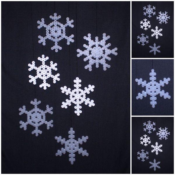 Ah, 1. december! Nu må vi godt begynde at jule. Sådan rigtigt for alvor. Og hvad er det første vi skal bruge for at komme i julestemning? Sne selvfølgelig! Så nu er det frem med de gode gamle Hama-...