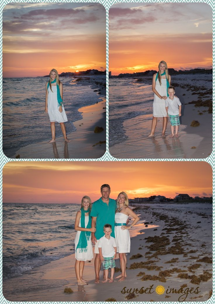 family beach portraits, colorful beach portraits, family beach pictures, kid pictures, family poses, skies, sunsets, destin