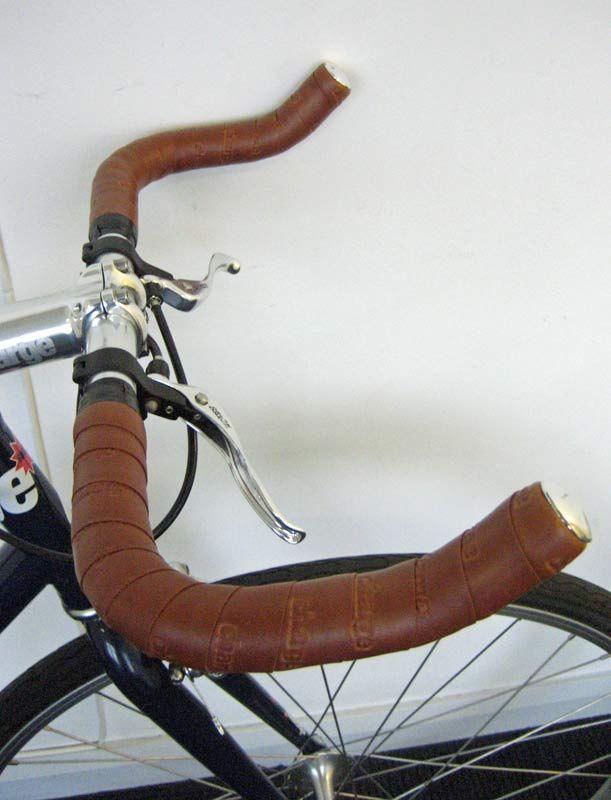bullhorn bike, leather handles - Google Search