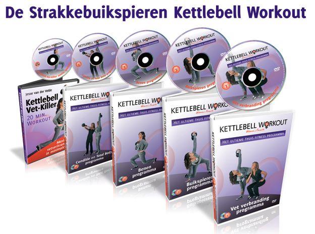 De Strakke buikspieren Kettlebel Workout!