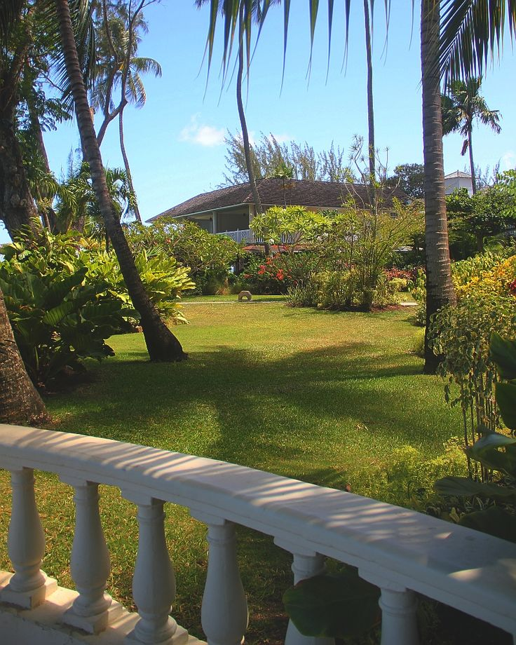 Rather than imposing multistorey buildings, several Barbados hotels are comprised of individual cottages set in tropical gardens.