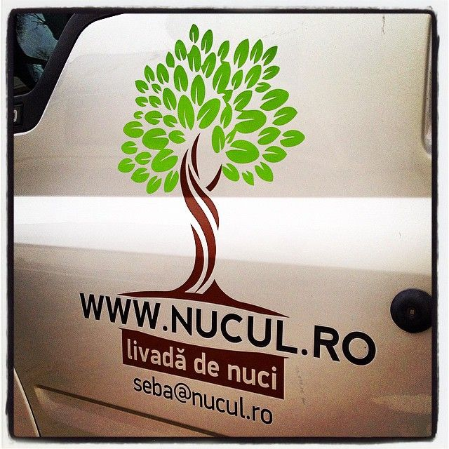 Nut orchard - branding the utility vehicle