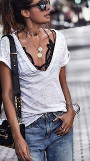 Bijoux fantaisie femme tendance: ladies summer season outfit, summer season informal outfit, summ…