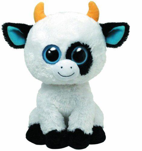 Ty Beanie Boos Buddies Daisy The Cow