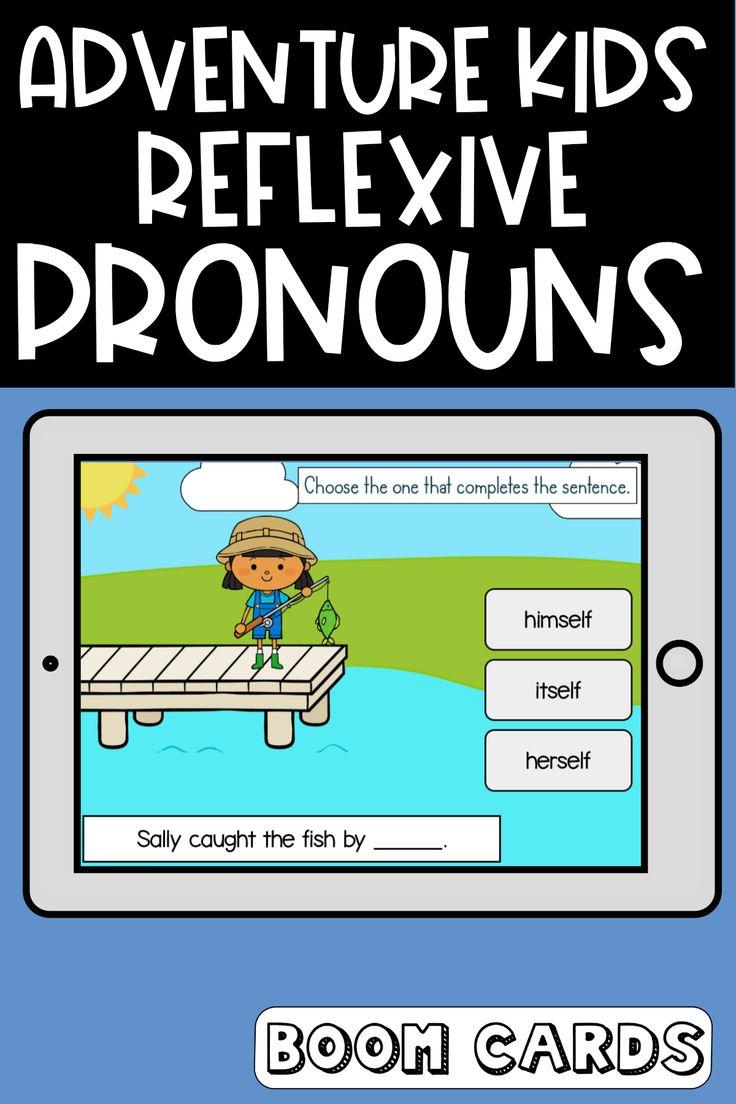 Adventure Kids Reflexive Pronouns