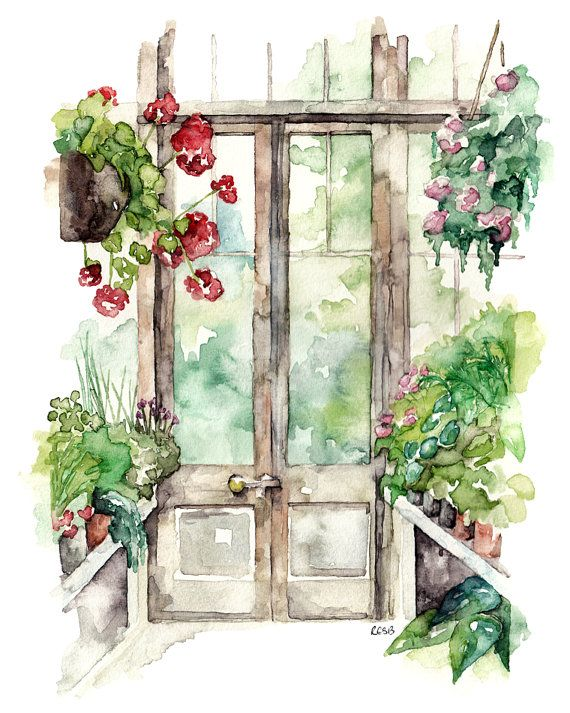 Simple Flower Garden Paintings best 10+ garden painting ideas on pinterest | illustrations, dream