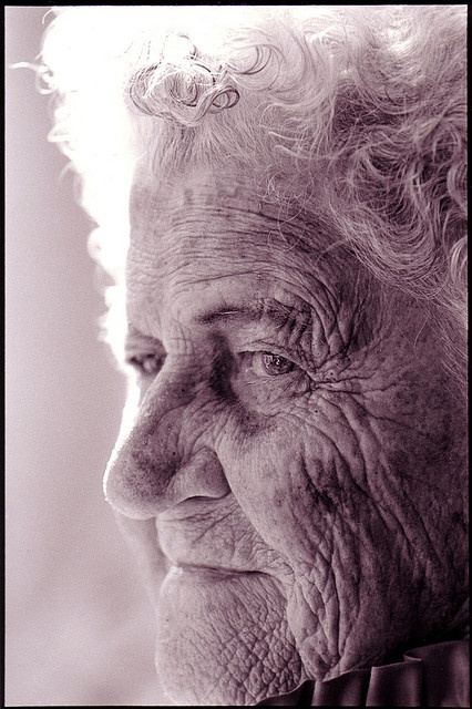 elderly woman by betsycontent
