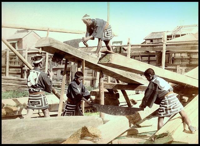 Lumber Yard - 1890s