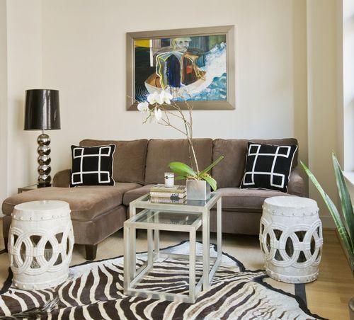 Küçük oturma odası tasarımları