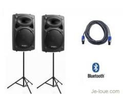 Location sono Bluetooth pour piscine