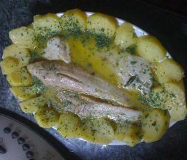 Ricetta Filetto di merluzzo al Varoma con patate pubblicata da kibusa - Questa ricetta è nella categoria Secondi piatti a base di pesce