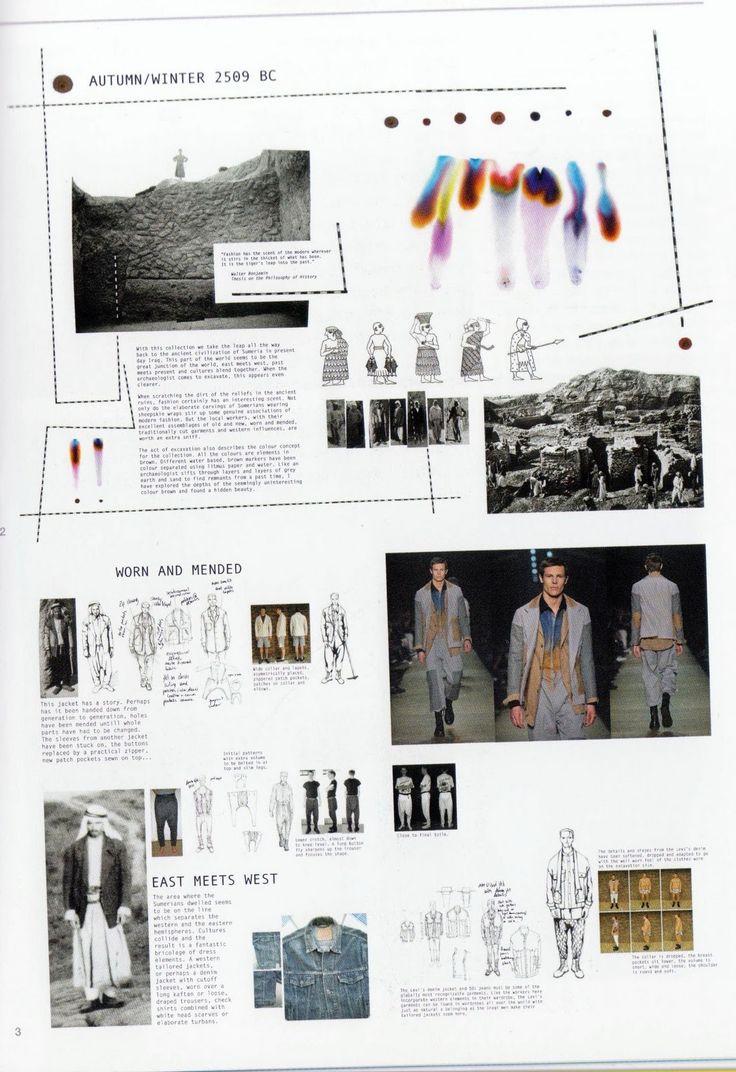 Fashion Portfolio - fashion design research, illustrations and collection development; fashion sketchbook // Harald Helgessen