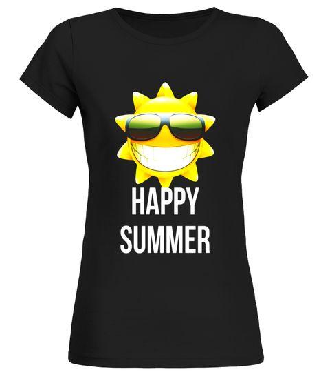 Happy Summer Sun amp; Sunglasses Basketball Playoffs T-Shirt
