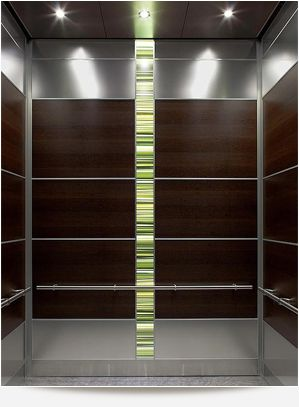 Elevator Cab Design | Minus The Green Vertical Stripe
