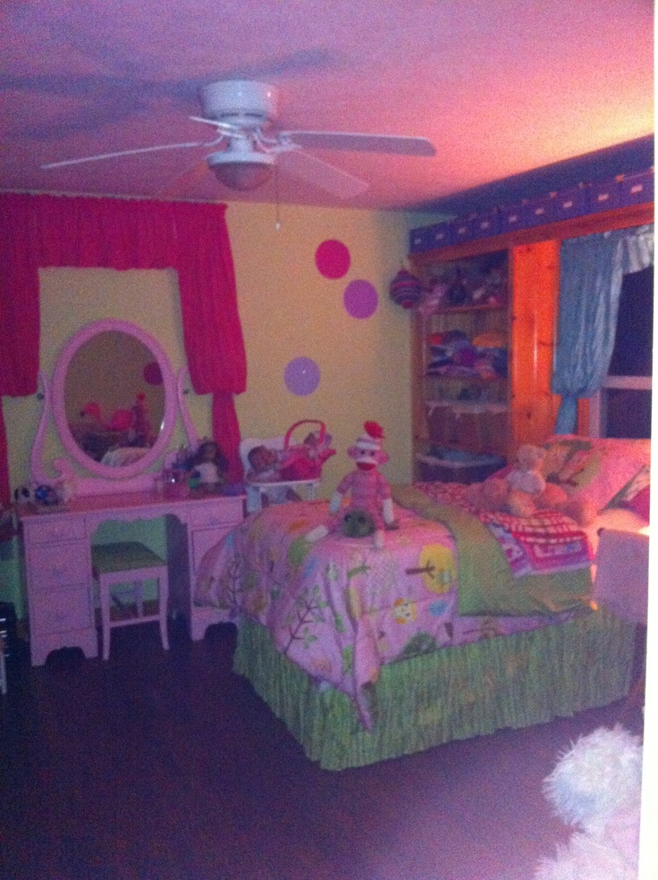 10 Year Bedroom Ideas: A New Pink Vanity In My 10 Year Old Little Girl's Room