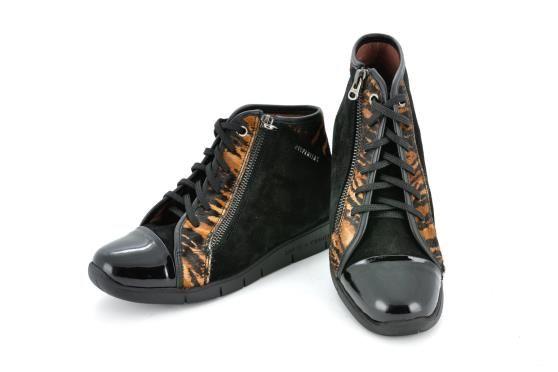 Sneakers HISPANITAS HI40715 tiger black / FW15