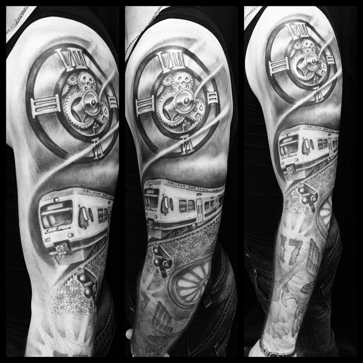 25 best ideas about train tattoo on pinterest american for Crazy train tattoos