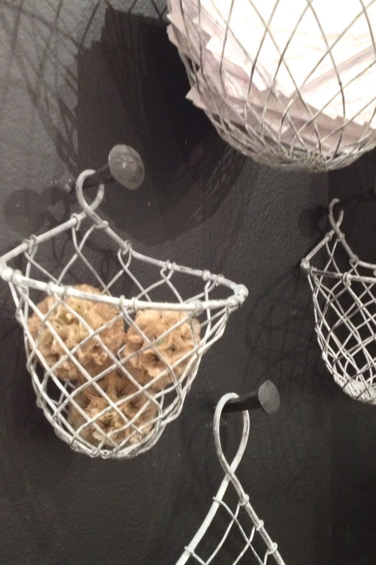 Organizing Wall Wire Baskets