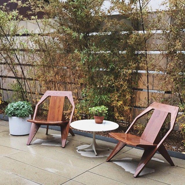 Even classic furniture gets a little wet sometimes. #mattiazzi #furnituredesign #woodworking #interiordesign