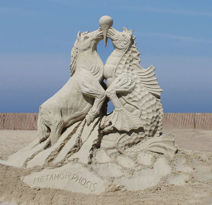 Best Sand Sculpture Images On Pinterest Sand Sculptures - The 10 coolest sandcastle competitions in the world